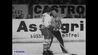 Hockey. 1967. USSR- CSSR. Чемпионат мира 1967. СССР-ЧССР.Хоккейный матч.