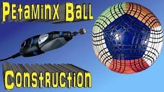 Petaminx Ball Construction by Tony Fisher (Rubik's type custom made puzzle)