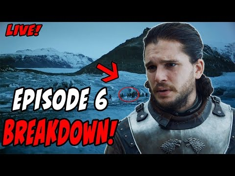 Game Of Thrones Season 7 BREAKDOWN Episode 6 Beyond The Wall LIVE!!