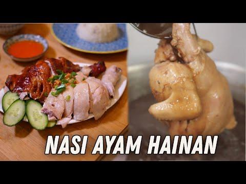 Nasi Ayam Yin Yang Hainan - Mat Salleh Cari Makan - 동영상