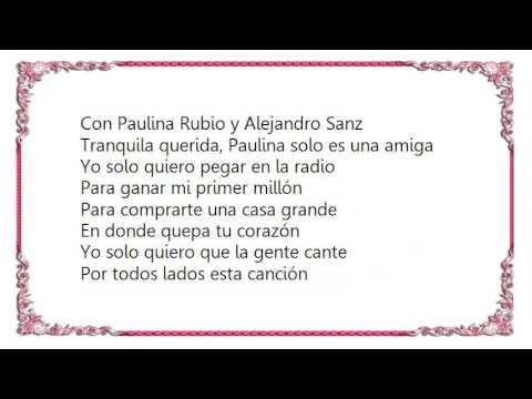 Bacilos - Mi Primer Millon Lyrics