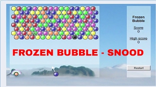 Frozen Bubble - A version of Snood - Retro Game - FUN!