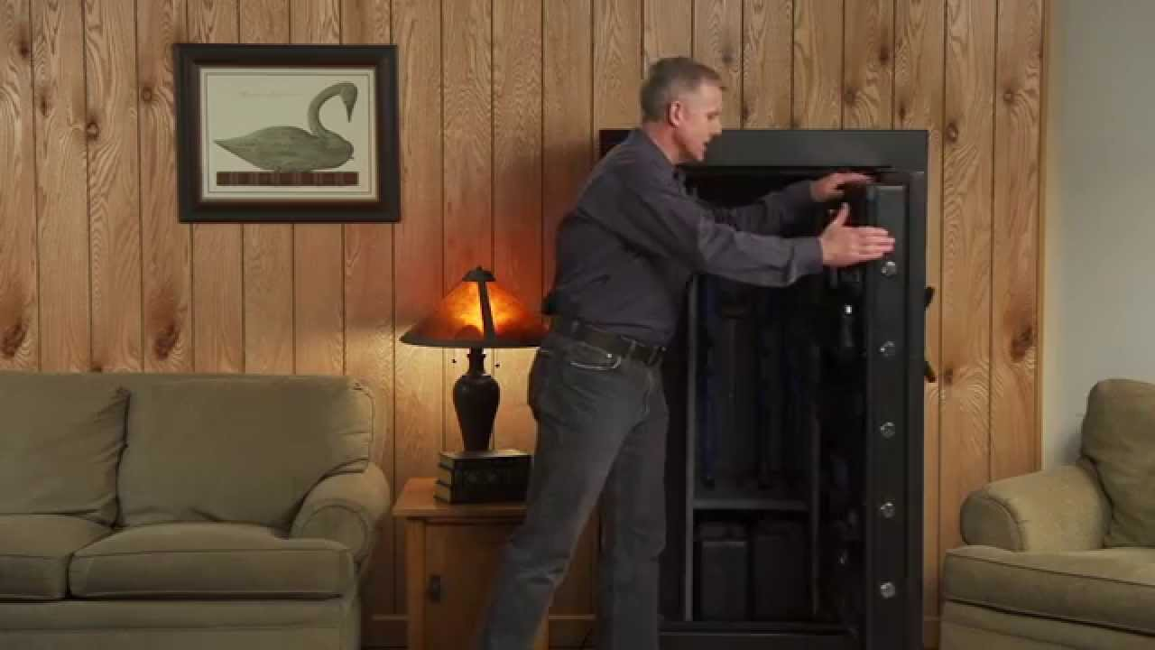 Gun Security Cabinet >> Stack On Tactical Safe - YouTube