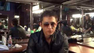 Павел Прилучный актер сериала Мажор, дает адрес своей группы.