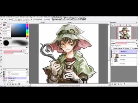 Anime Manga Magician Boy Speedpaint On FireAlpaca YouTube