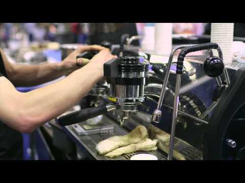 SCAA 2014: La Marzocco Strada EP Espresso Machine
