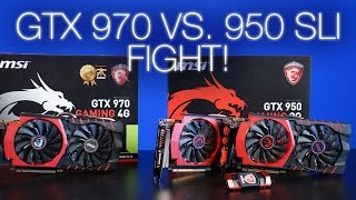 Should You Buy Two GTX 950s, or A Single GTX 970?