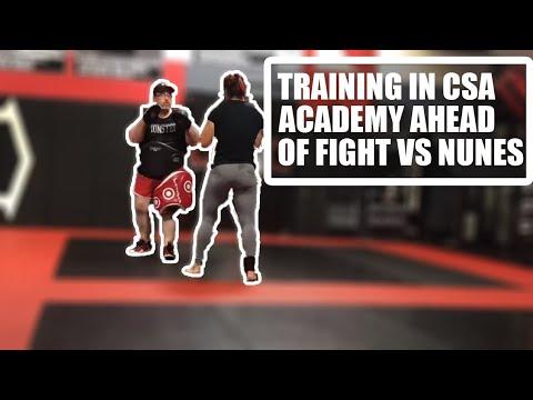 Cris Cyborg UFC 232 training with CSA Academy ahead of Amanda Nunes Superfight