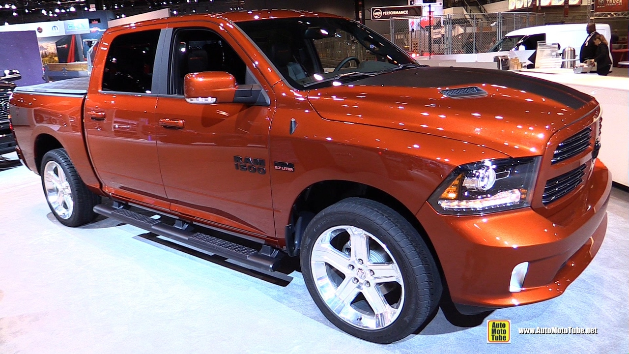 2017 ram 1500 copper sport exterior and interior walkaround 2017 chicago auto show youtube. Black Bedroom Furniture Sets. Home Design Ideas