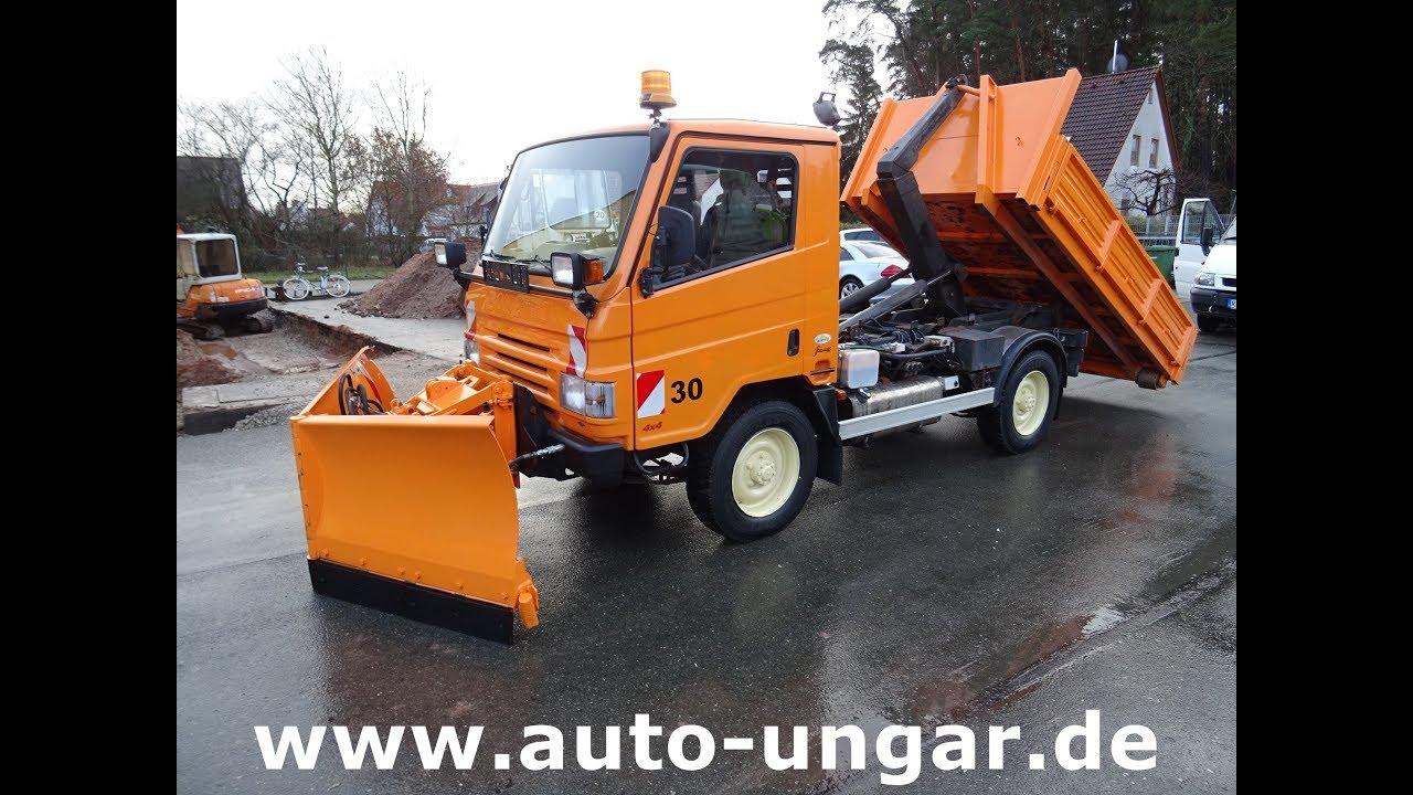 Ganz und zu Extrem Bonetti FX100 Abroller 4x4 Winterdienst mit Schneeschild www.auto #MZ_26