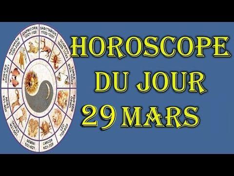 Horoscope du jour 29 mars