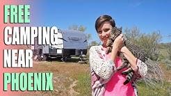 Free BLM Camping Near Phoenix, Arizona & Lake Pleasant Regional Park