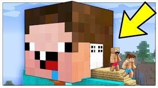COME VIVERE DENTRO UN NOOB! - Minecraft ITA