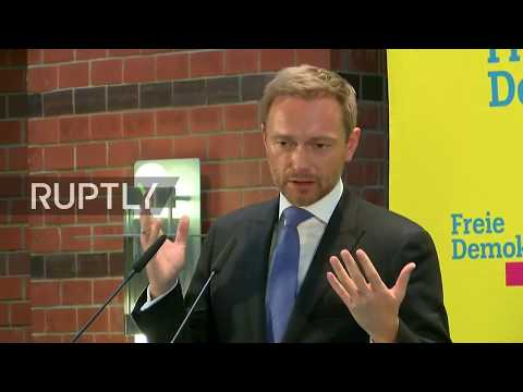 LIVE: FDP holds press conference in Berlin following coalition talks collapse