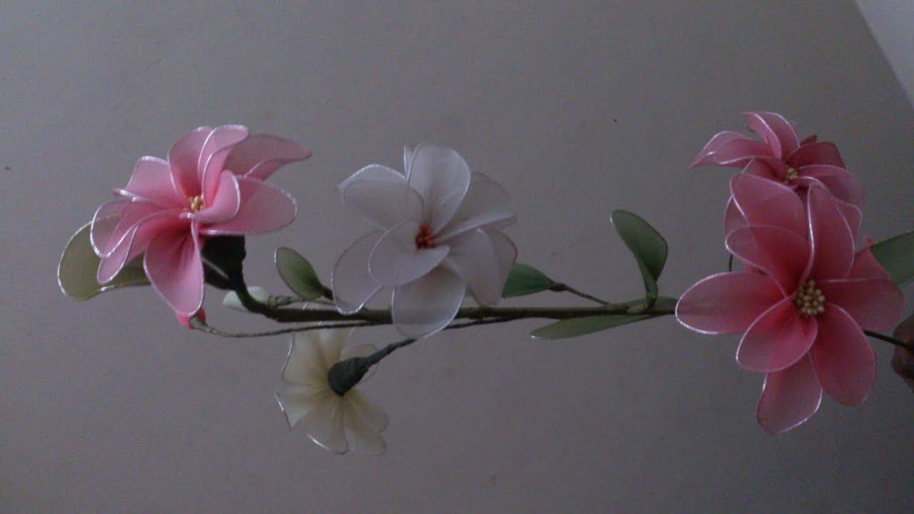 Stocking flower making videos ,stocking flower tutorial easy ...