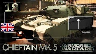 Chieftain Mk. 5 - szybki atak - BITWA - Armored Warfare