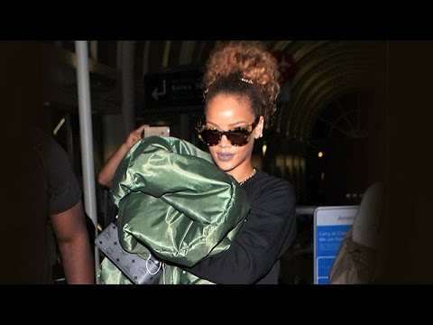 Rihanna In A Cuddly Mood After Making Out With Travis Scott In NYC