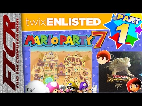 'Mario Party 7' - Pyramid Park Part 1: twixENLISTED