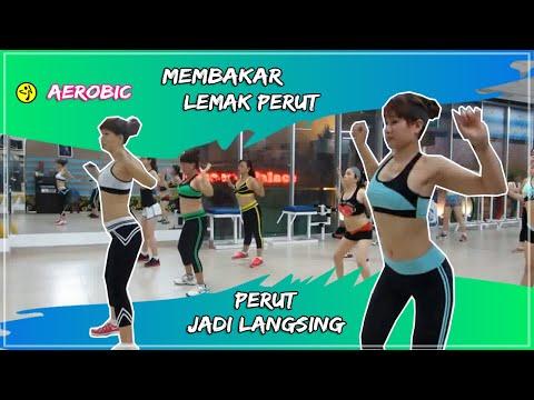 Senam Aerobic Membakar lemak perut