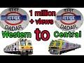 MUMBAI DADAR STATION WESTERN TO CENTRAL LINE ( 4K )