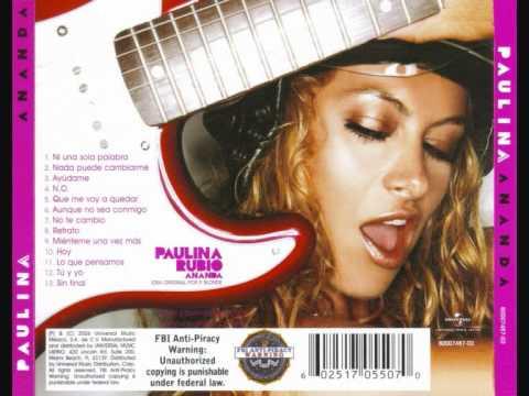 Paulina Rubio - 11 Lo Que Pensamos mp3