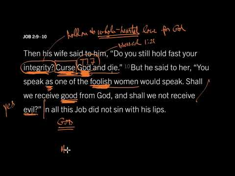 Job 2:4–10 // How a Fool Responds to Suffering