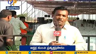 All Set for KCR to Resume High Voltage Poll Campaign | at Jadcherla