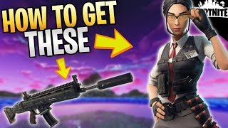 FORTNITE - How To Get The New Wraith AR And Mythic Rook Outlander In Save The World