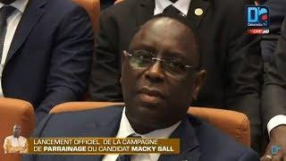 [LIVE-PUBLIREPORTAGE] Suivez la cérémonie de lancement de la campagne de parrainage de Macky Sall