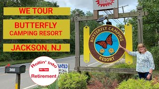 We Tour Butterfly Camṗing Resort Jackson NJ