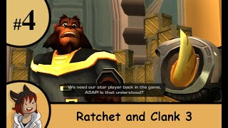 Ratchet and Clank 3 part 4 - Saving the president