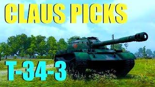 WOT - Claus Picks T-34-3 | World of Tanks