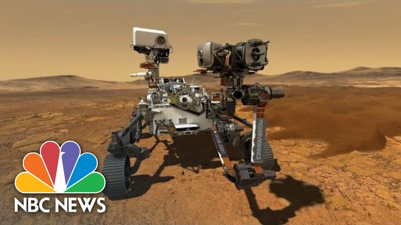NASA Holds Press Conference After Perseverance Rover Lands On Mars | NBC News