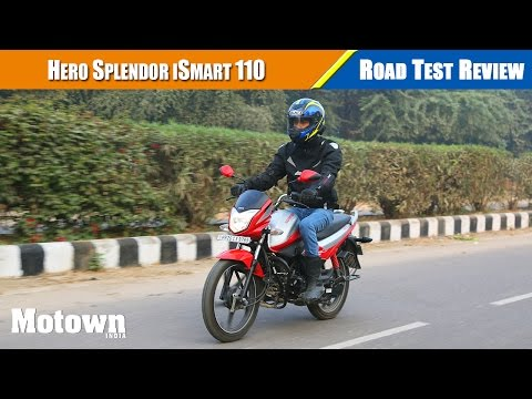 Hero Splendor iSmart 110 Road Test Review