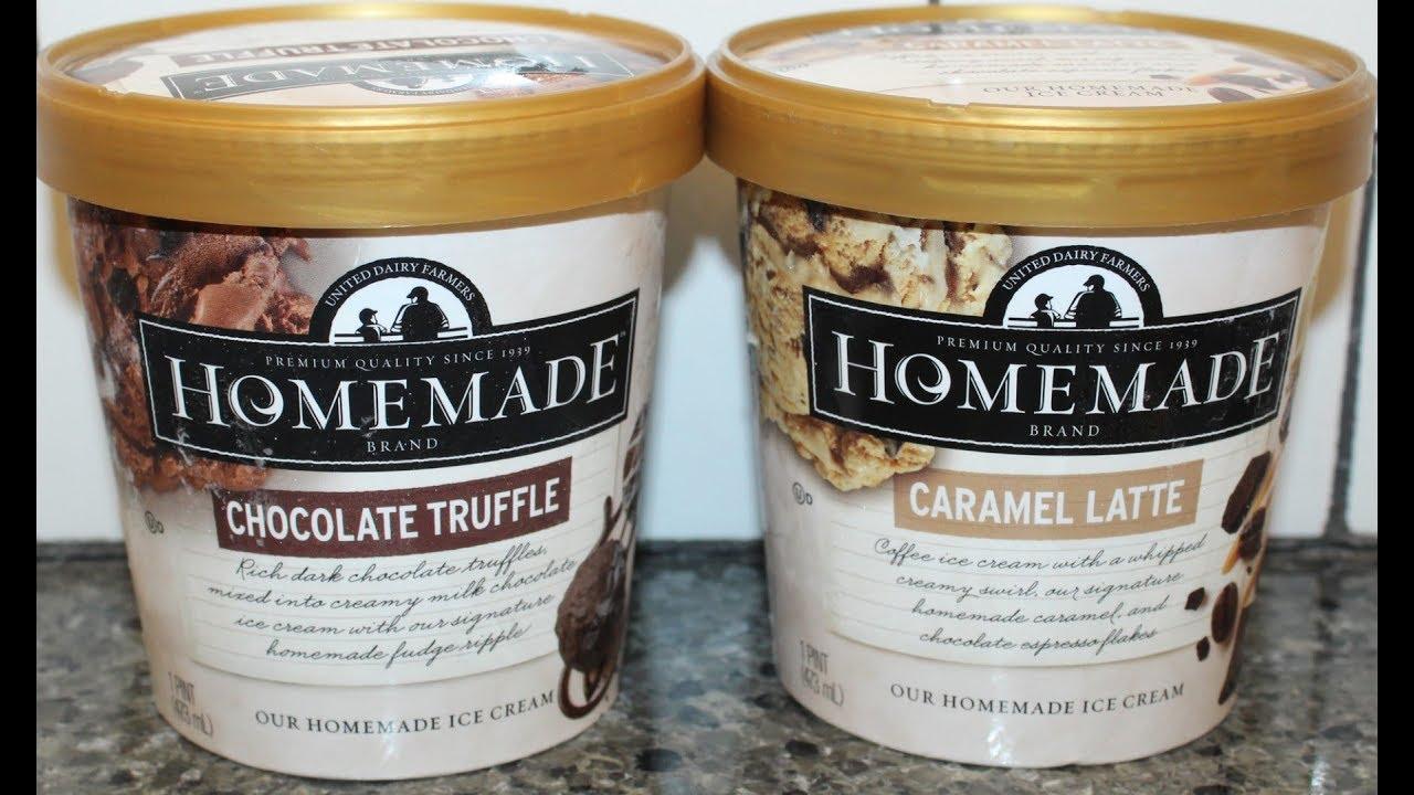 Homemade Brand Ice Cream: Chocolate Truffle & Caramel Latte Review