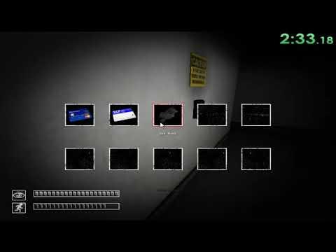SCP Containment Breach V0.9.3 Speedrun Gate A Ending 1 Random Seed - 6:23.07 [WR]