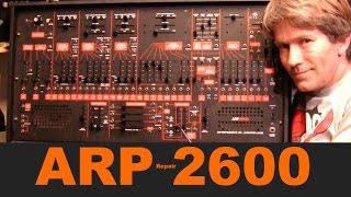 arp 2600 analog synthesiser fader repair mf 83