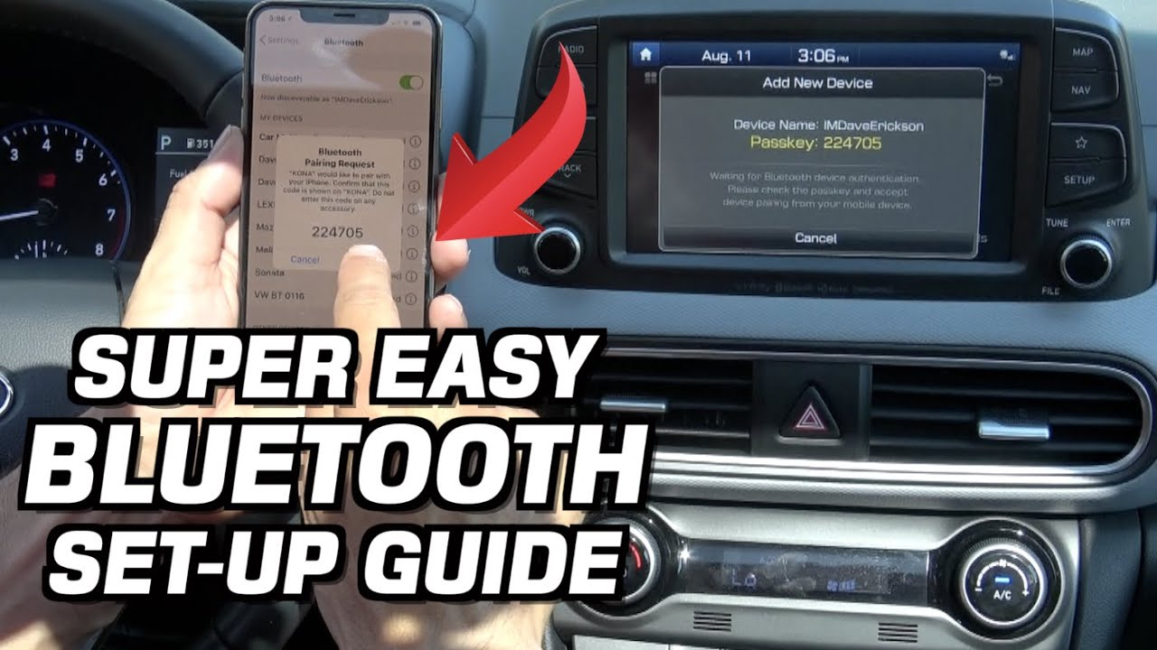 Bluetooth Pairing Made Easy on Everyman Driver