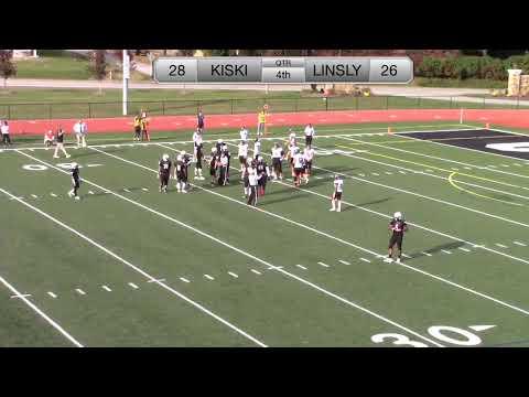 Kiski Football V. Linsly (10-19-19) Homecoming Celebration