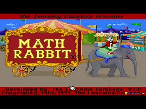 Math Rabbit Gameplay Pc Game 1986 Youtube