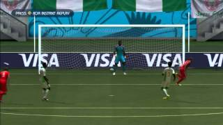 2014 FIFA World Cup Brazil Simulation - Match 53 - Switzerland vs Nigeria Round Of 16