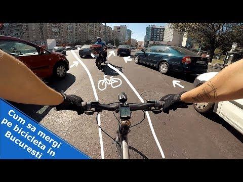 Cum sa mergi pe bicicleta in Bucuresti