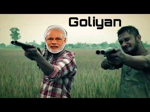 #Goliyan Modi Feat Honey Singh Khao Piyo Aish Karo Mitron ft. Narendra Modi (Mayank jangra)