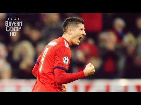 Robert Lewandowski 2018/19 - Complete Striker - Skills & Goals