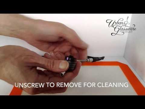 How to setup an electronic nail enail dnail dabbing tools