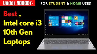 best 10th-gen laptop (2020) under 40000 in India🔥🔥🔥 | laptop for programmers | for video editing
