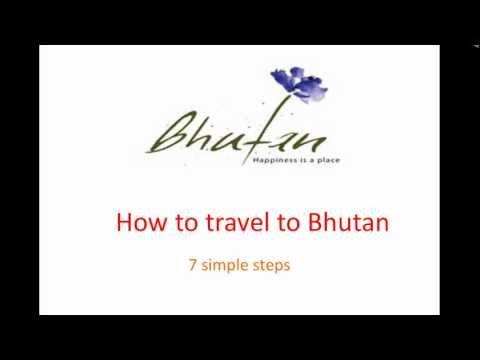 How to travel to bhutan