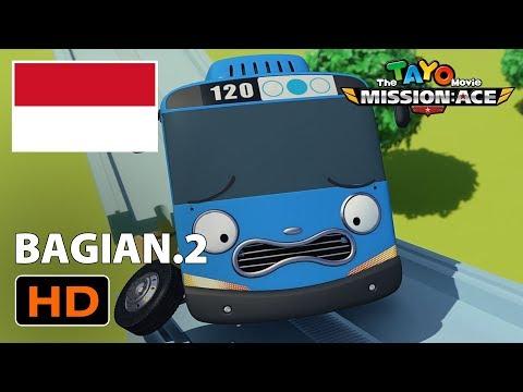 Kumpulan Kartun Lucu Animasi L Tayo Movie Bahasa Indonesia L Misi Penyelamatan Ace L Bagian 2