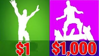 $1 FORTNITE ACCOUNT Vs. $1000 *ULTIMATE* FORTNITE ACCOUNT