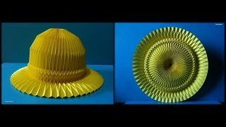 Hat Paper / Folding Corrugation -origami-